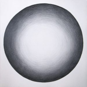 Untitled (Graphite Sphere)